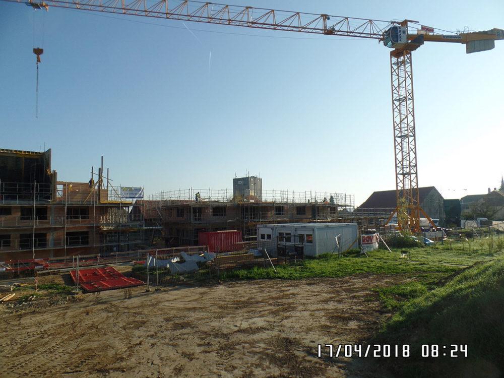 Construction de 3 immeubles à Cugy