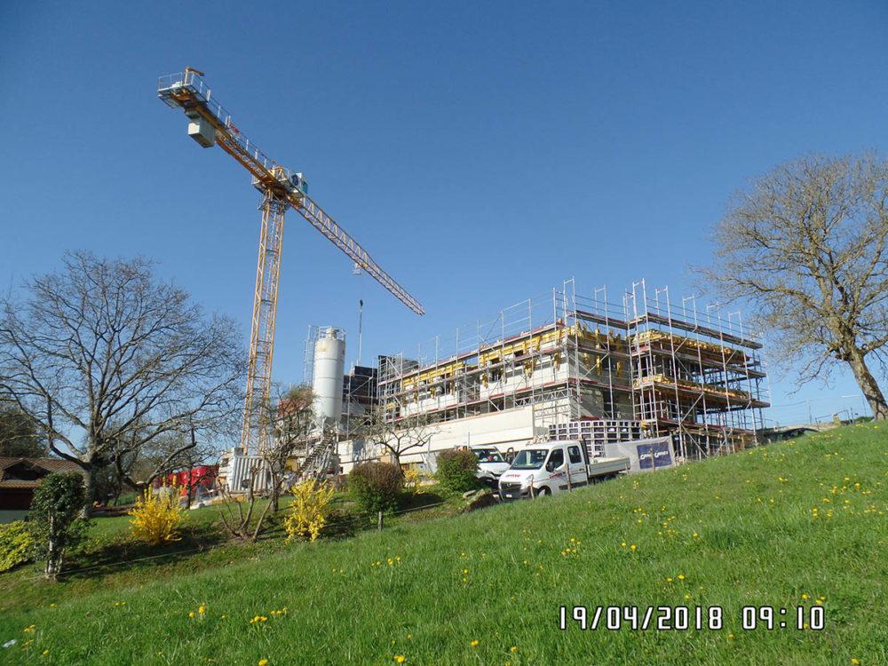 Construction de 2 immeubles à Bettens