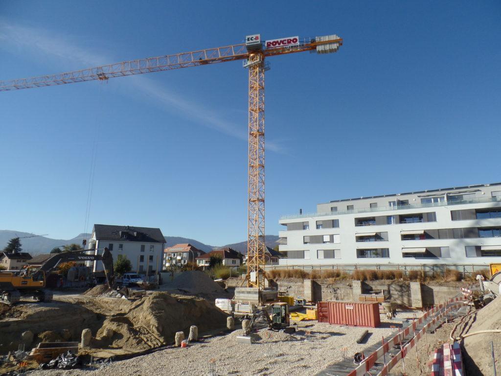 """Construction d'un immeuble """"Les Fleurettes"""""""