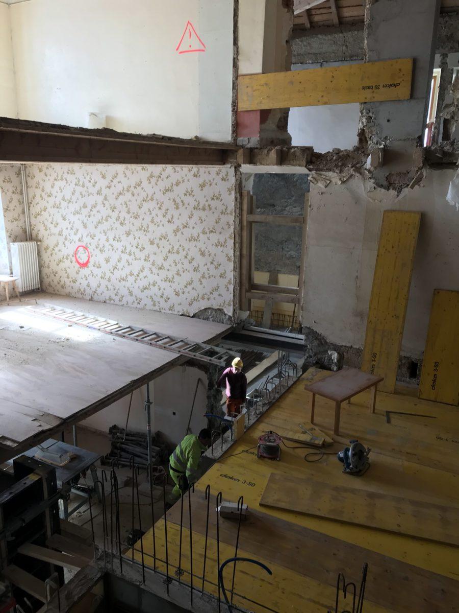 Transformation bâtiment La Bessonne
