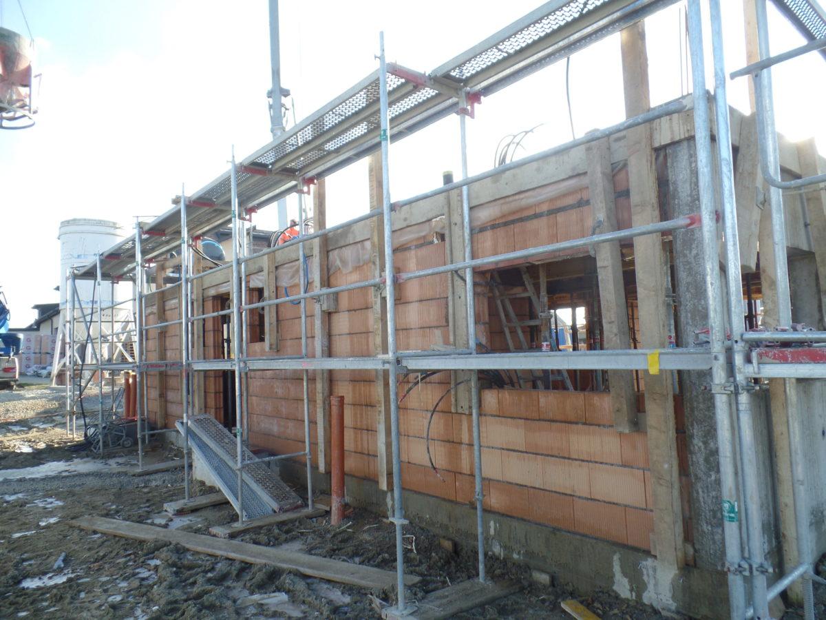 Construction d'une villa à Cronay