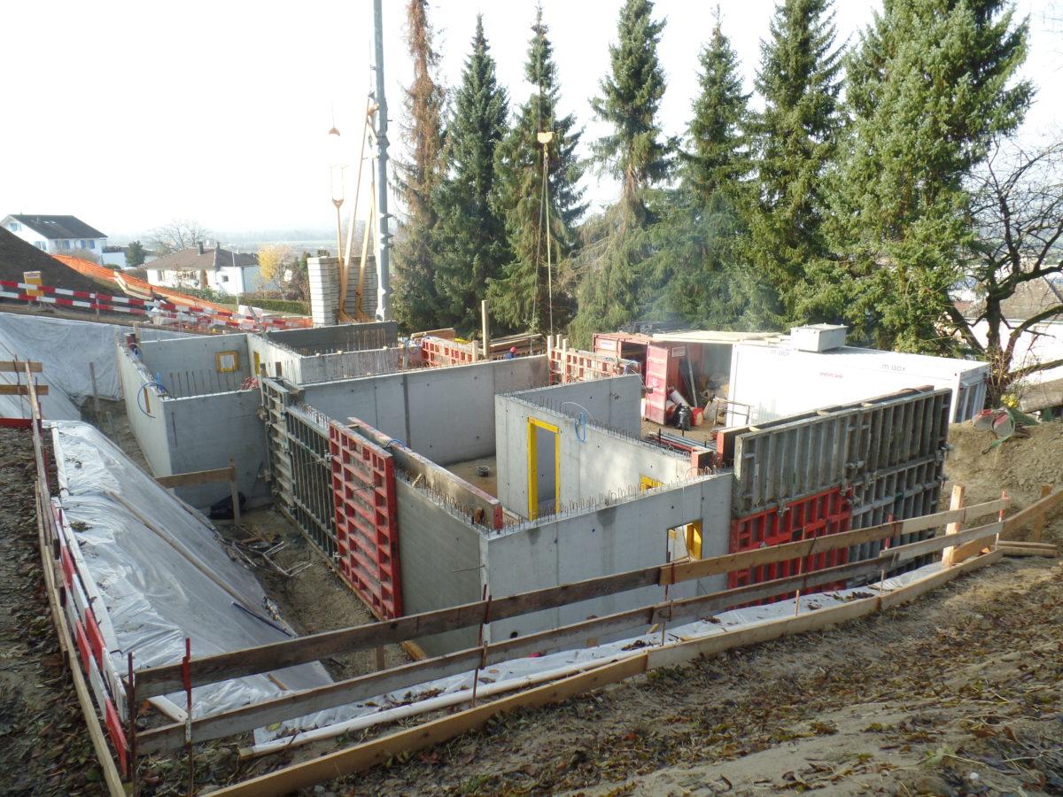 Construction d'une villa jumelle à Avenches