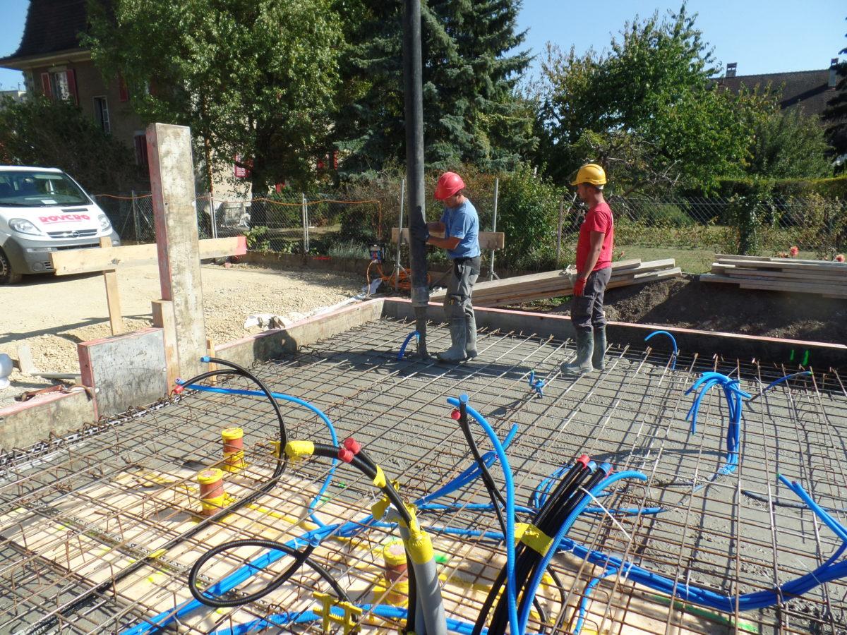 Construction d'une habitation comprenant 3 logements à la Rue du Midi 23 à Yverdon