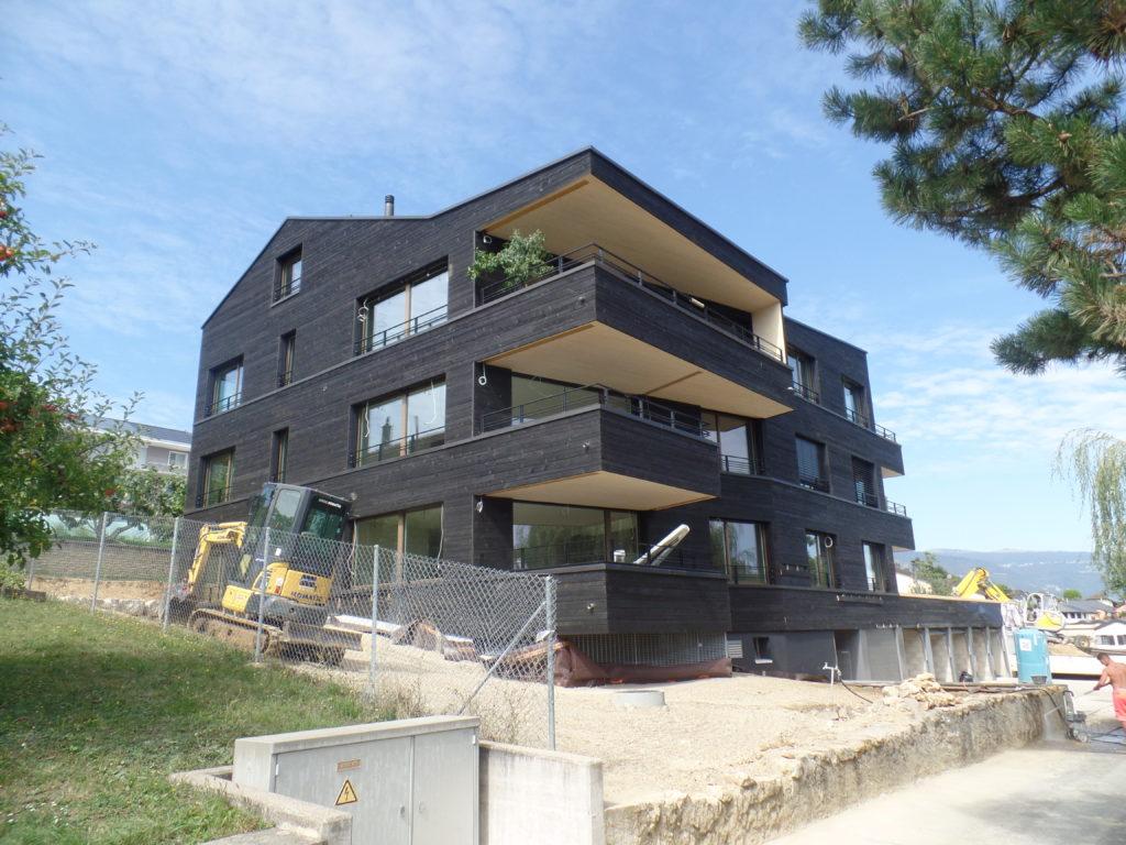 Construction d'un immeuble au Chemin du Levant 13 à Orbe