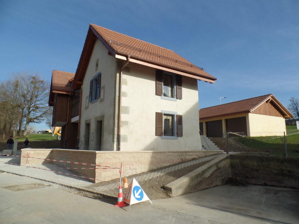 Transformation bâtiment à Peyres-Possens