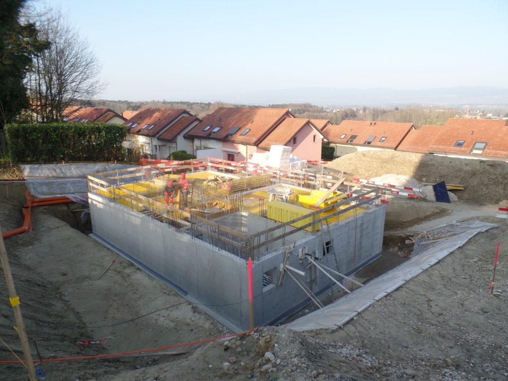 Construction d'un immeuble de 6 appartements