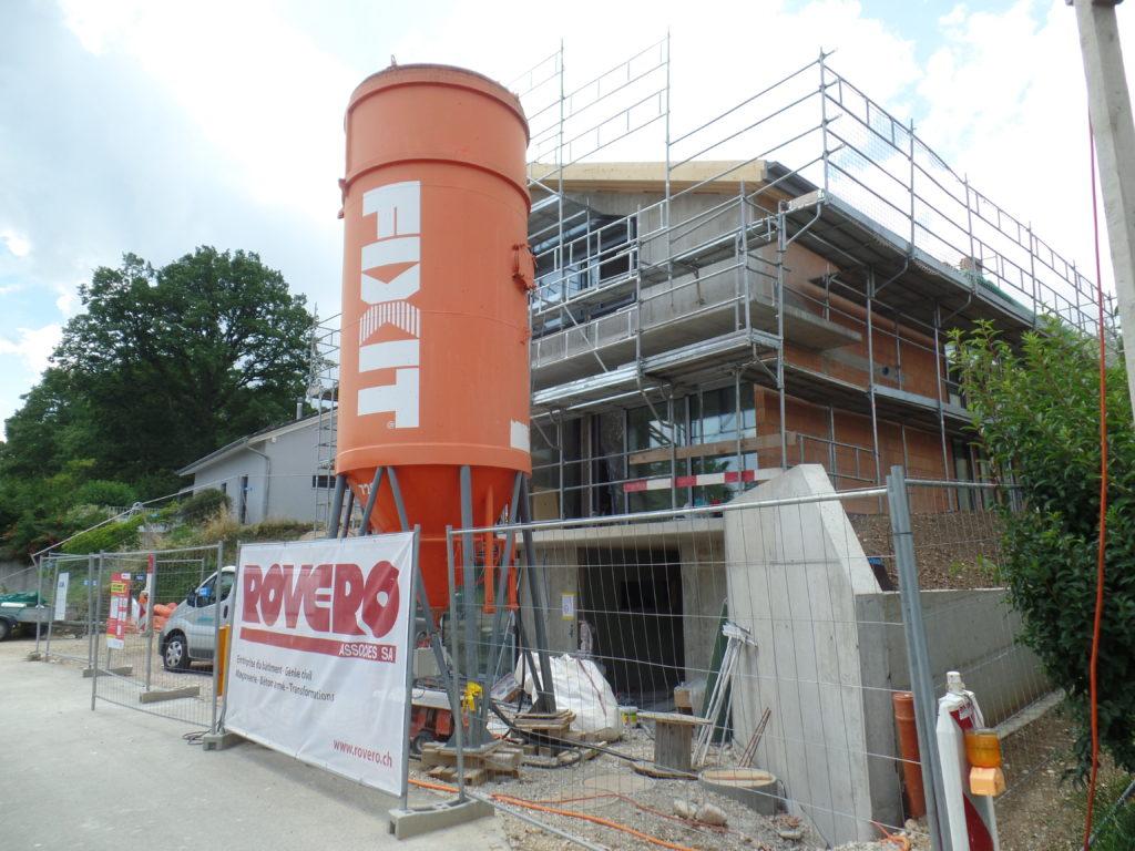 Construction d'une maison familiale à Montcherand