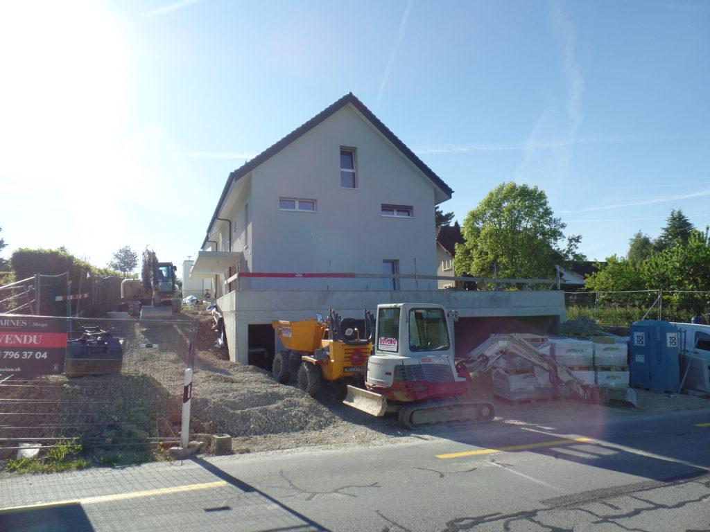 4 villas à Cossonay